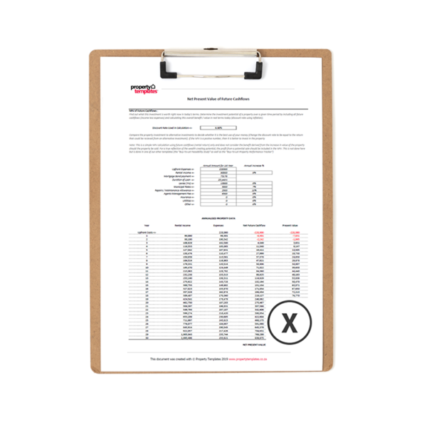 Download Excel Property Templates